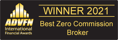 ADVFN Best Zero Commission Broker 2021