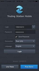 Trading Station Mobile Login